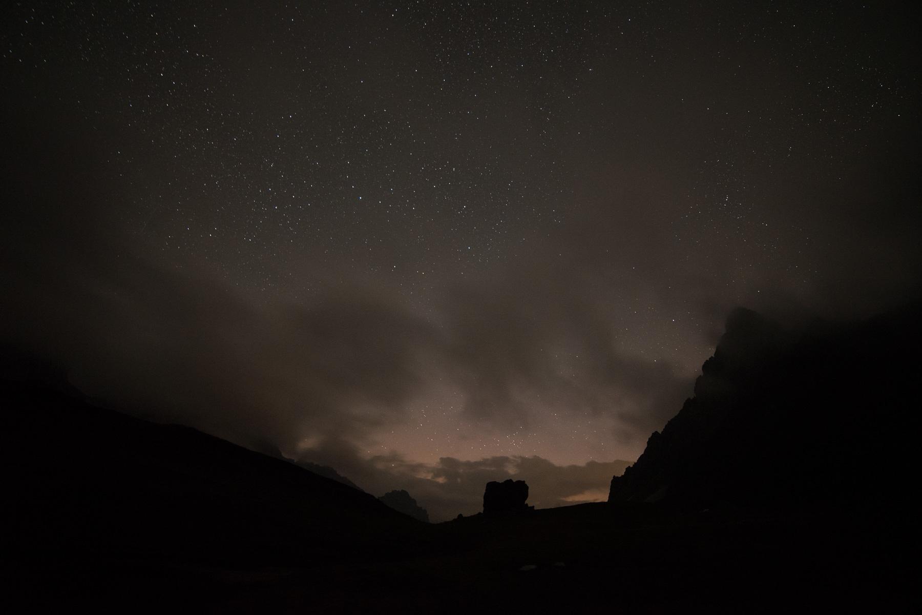 Bivouac au lac des Cerces, randonnée à Valloire Galibier