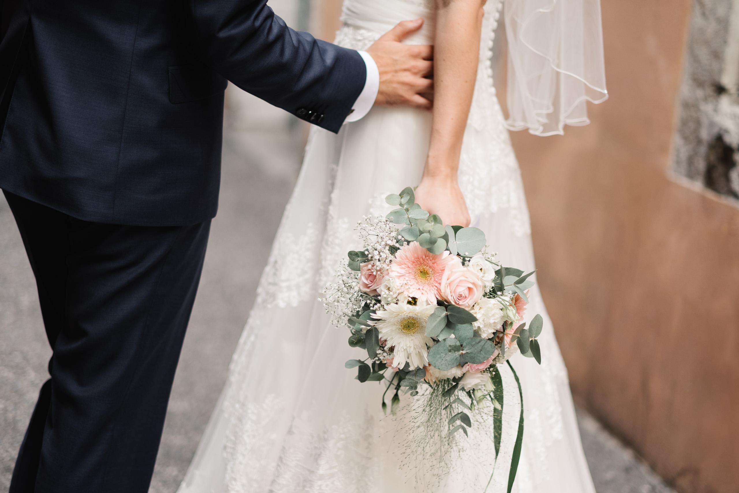 Mariage à Chambéry - Bouquet de fleurs de la mariée - Lucile & Florent