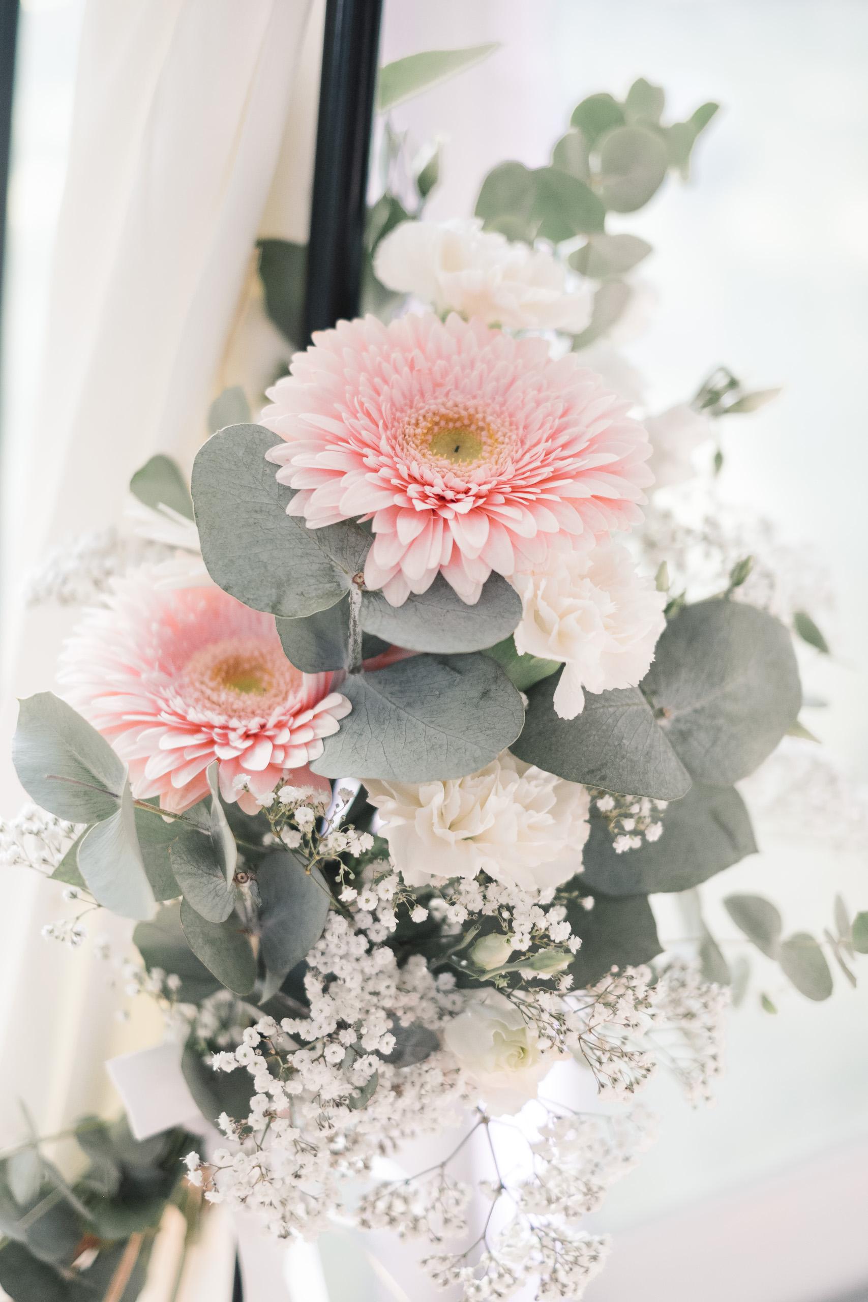 Mariage à Chambéry - Décoration fleurs - Cérémonie laïque - Lucile & Florent