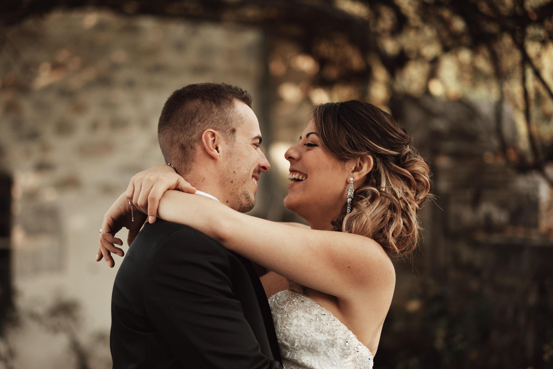 Séance photo de mariage au Domaine des Saints Pères à Chambéry
