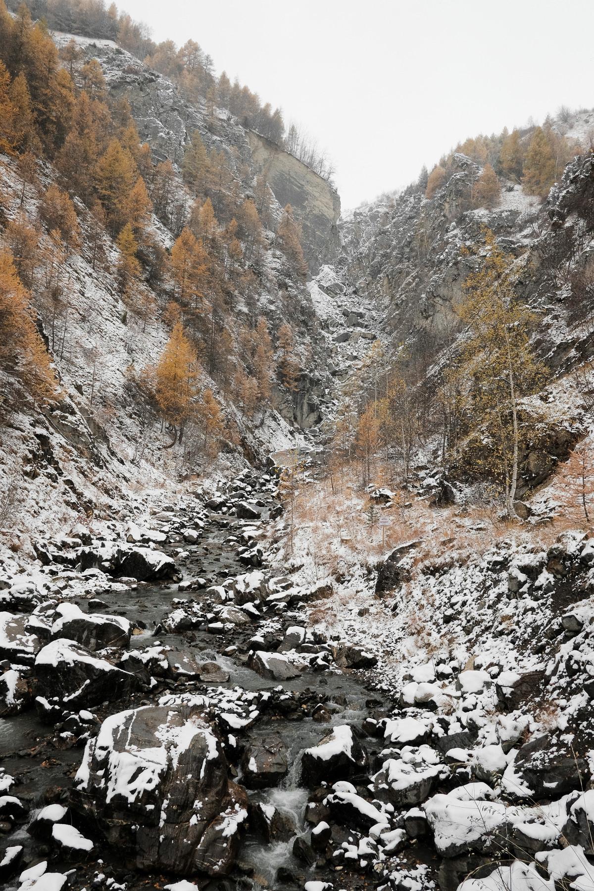 Cascade de l'Enfer à Valloire