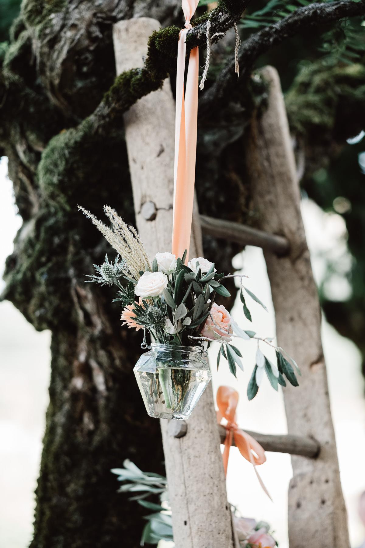 Fleuriste mariage Chambéry bohème chic