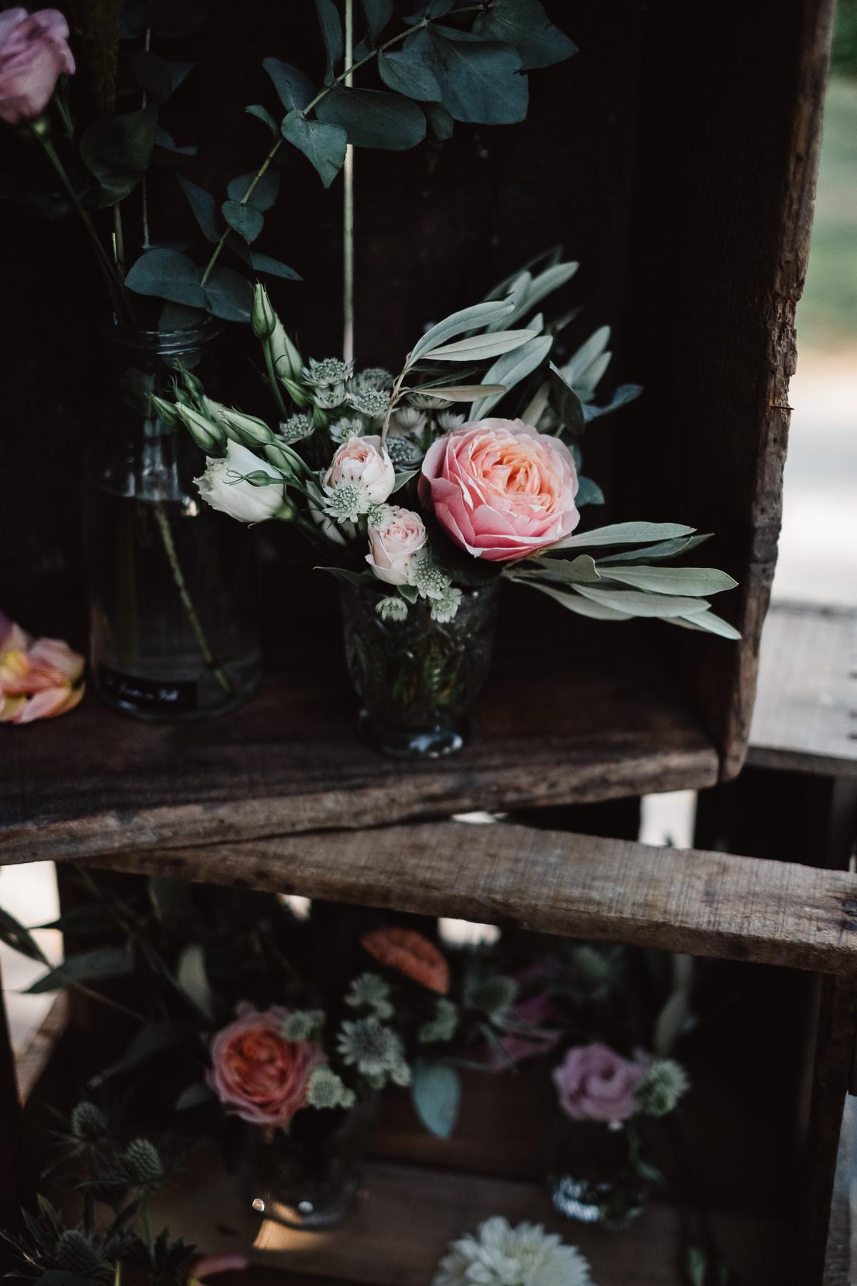 Bouquet de fleurs cérémonie mariage Chambéry