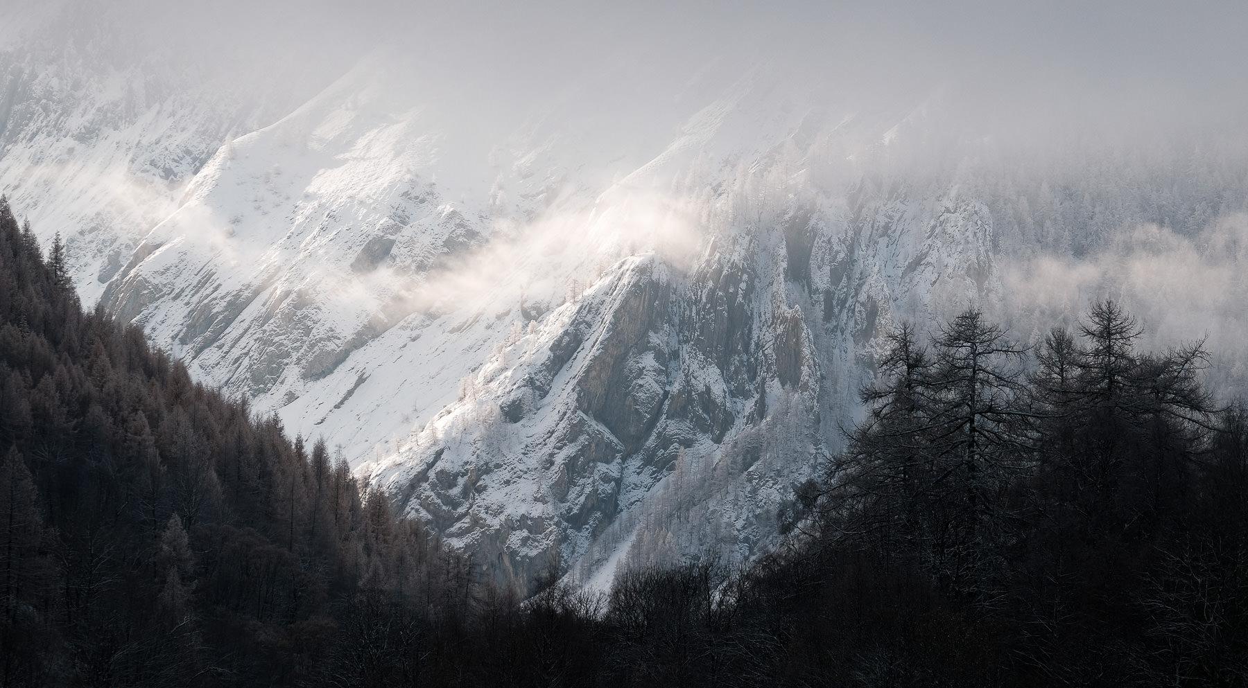 Panorama de Valloire depuis Les Verneys