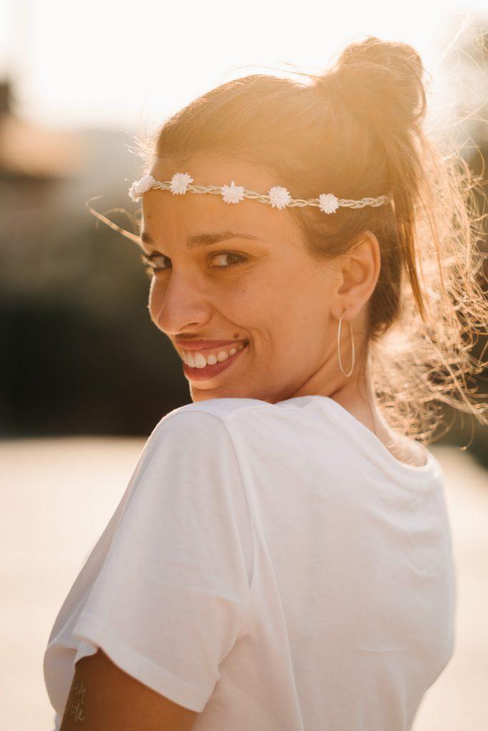Portrait future mariée à Annecy