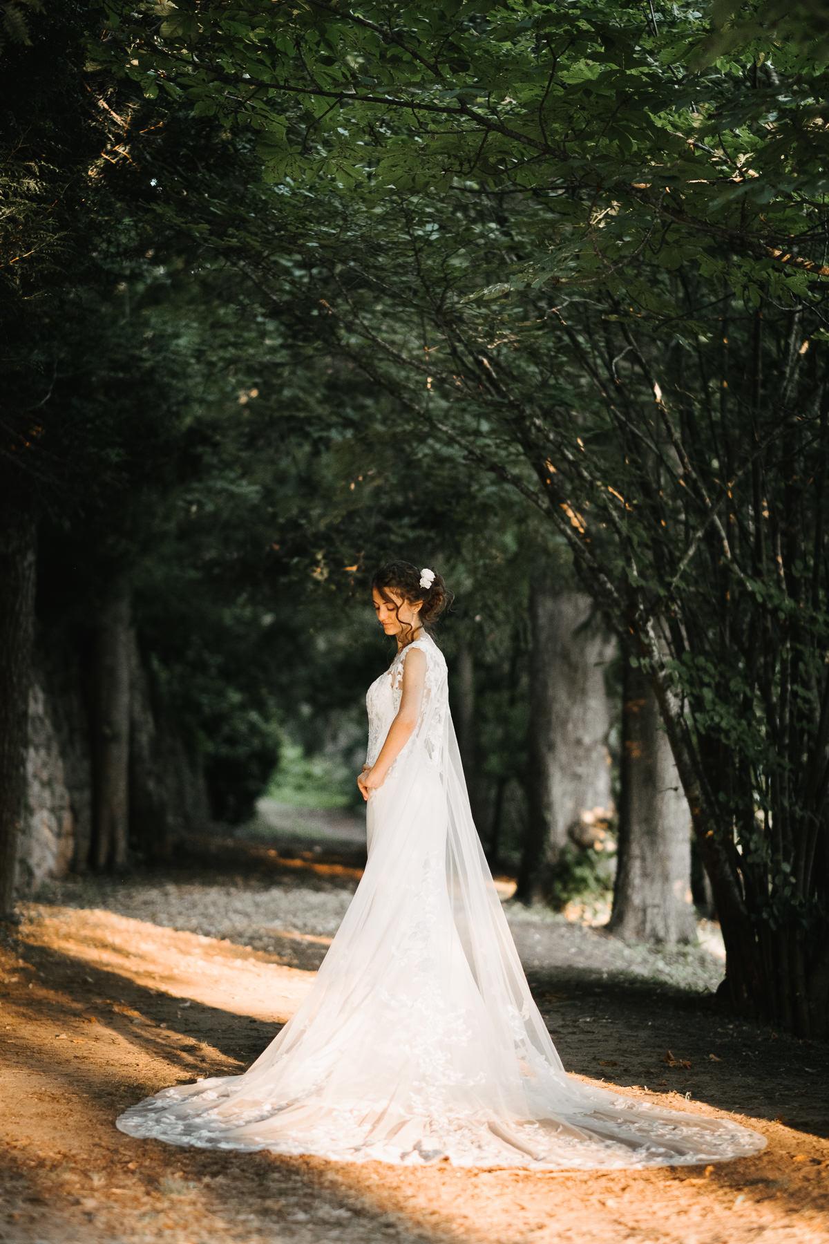 Robe de mariée en Ardèche