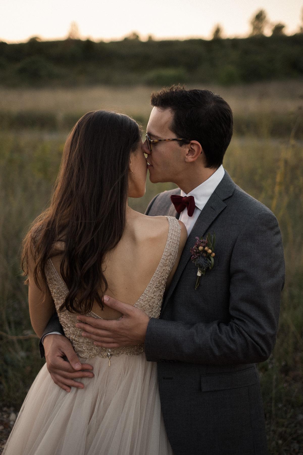 Photographe mariage bohème chic champêtre