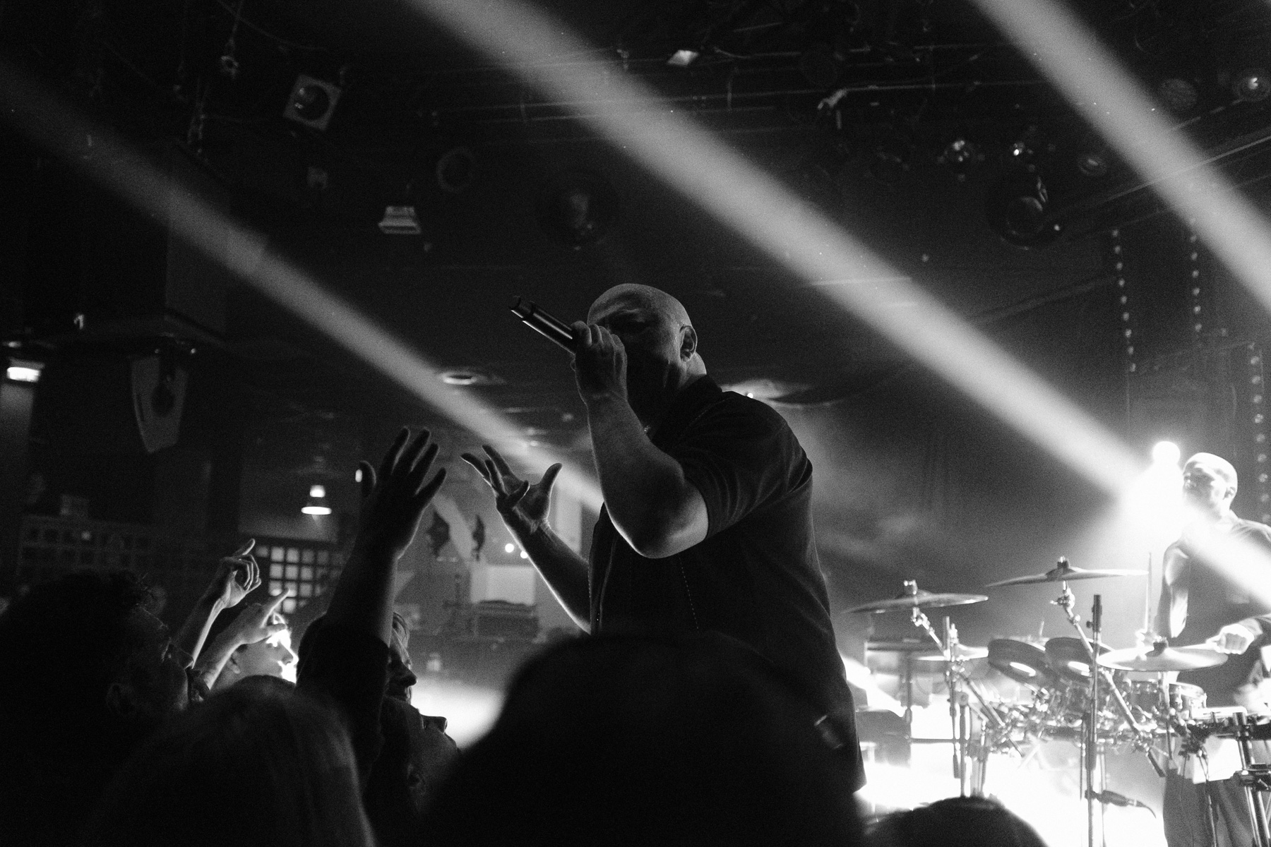 VNV Nation, Le Trabendo (Paris), 07.02.2019