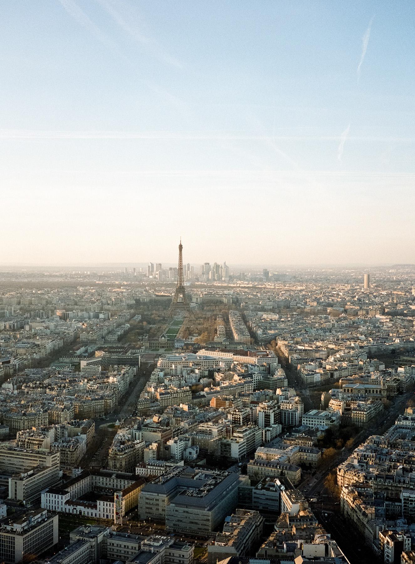Paris depuis la tour Montparnasse, Fuji 400H + Fujifilm GA 645