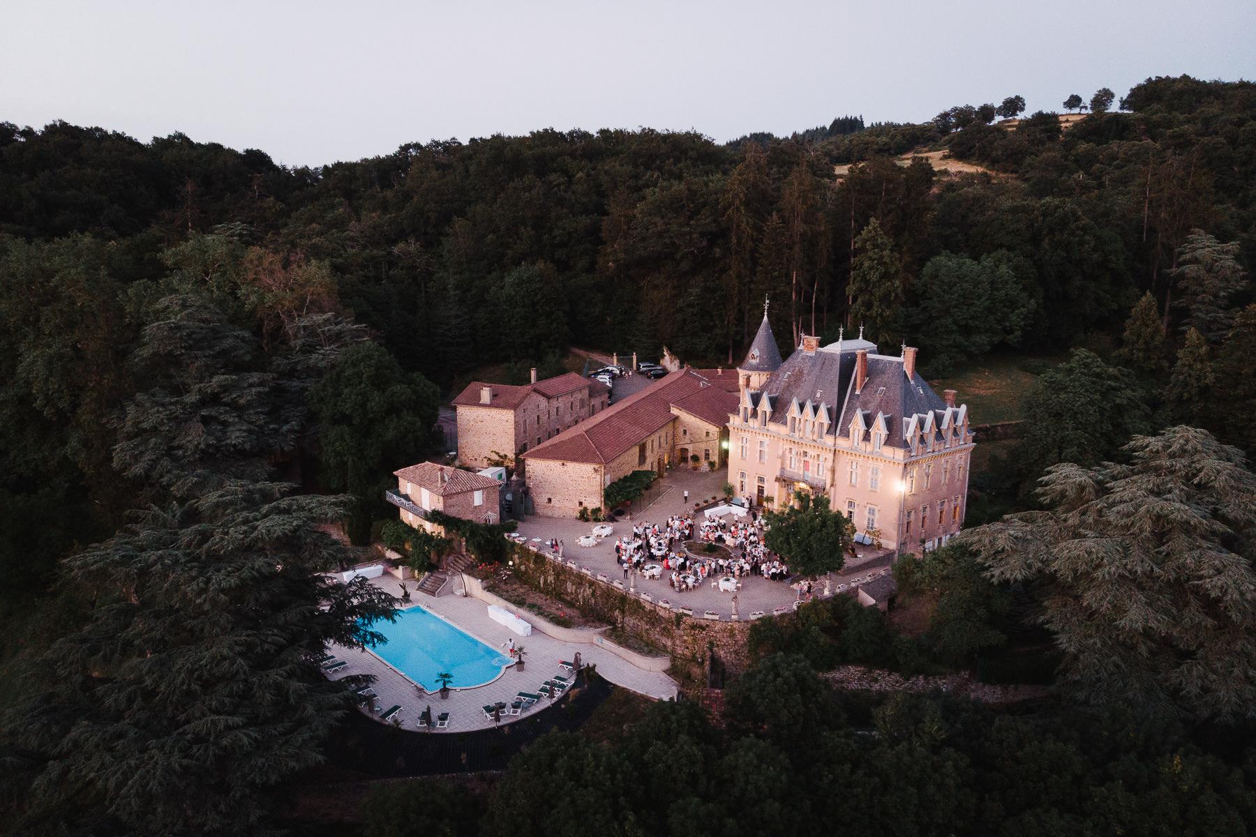 Domaine en Ardèche : Mariage au Château d'Urbilhac